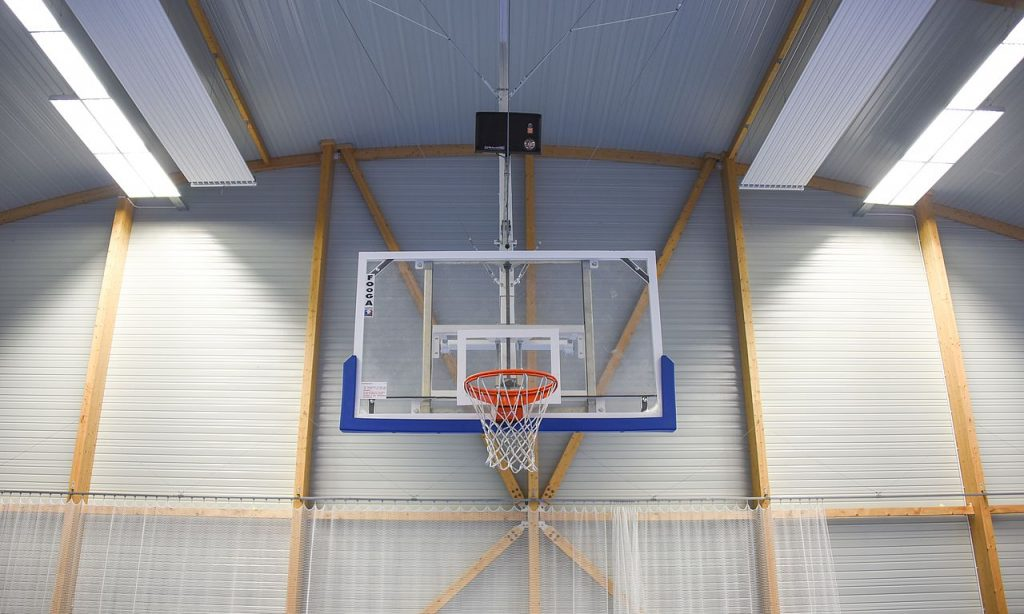 Hauteur panier de basketball